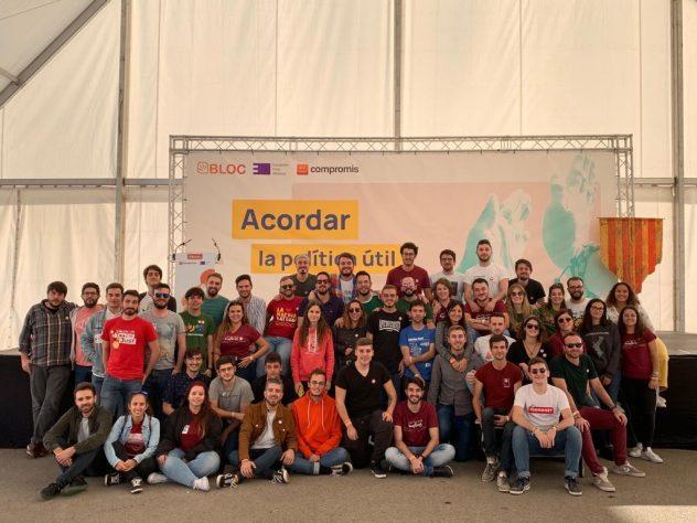 Joves PV a l'Aplec del Puig